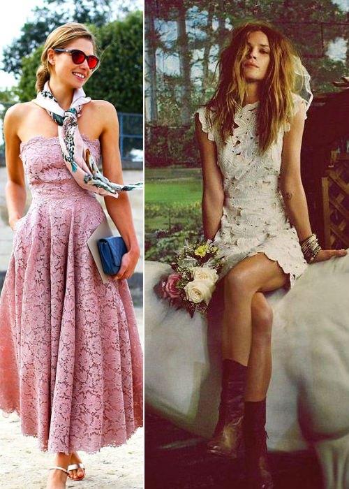 2014 Yaz Dantel Elbiseler
