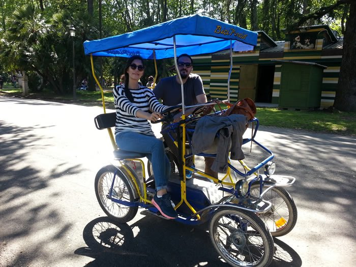 Villa Borghese Çift Kişilik Bisiklet