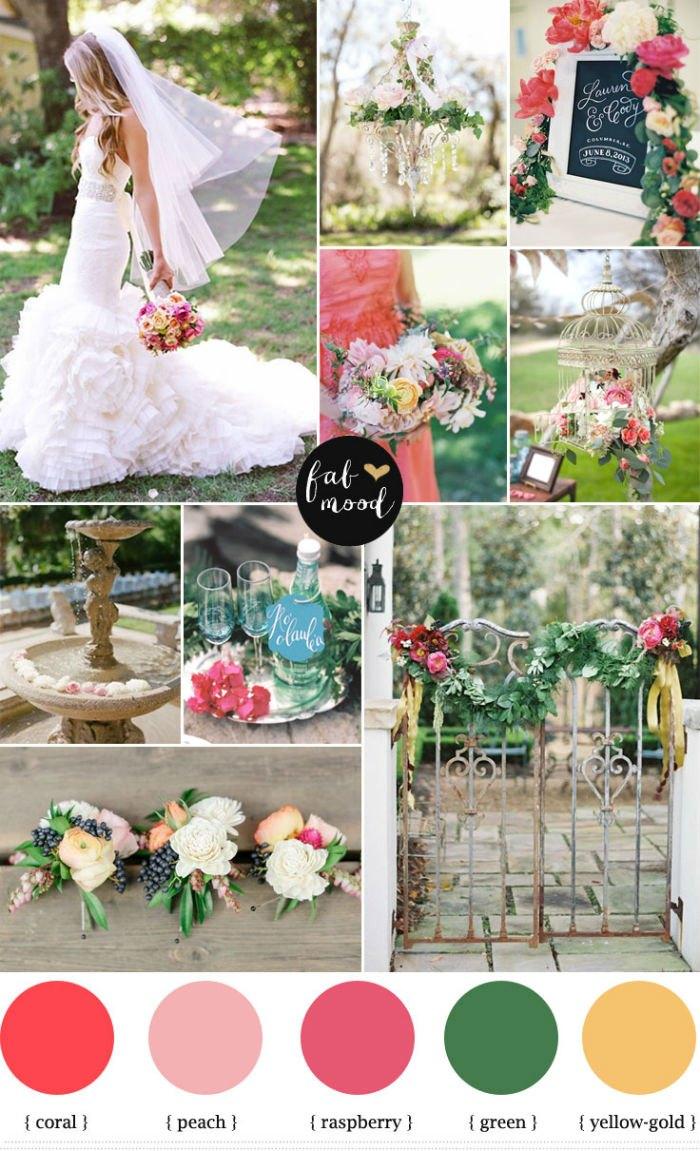 Yaz Düğünleri İçin Renk Paletleri