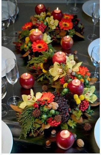 Meyvelerle Masa Süsleme