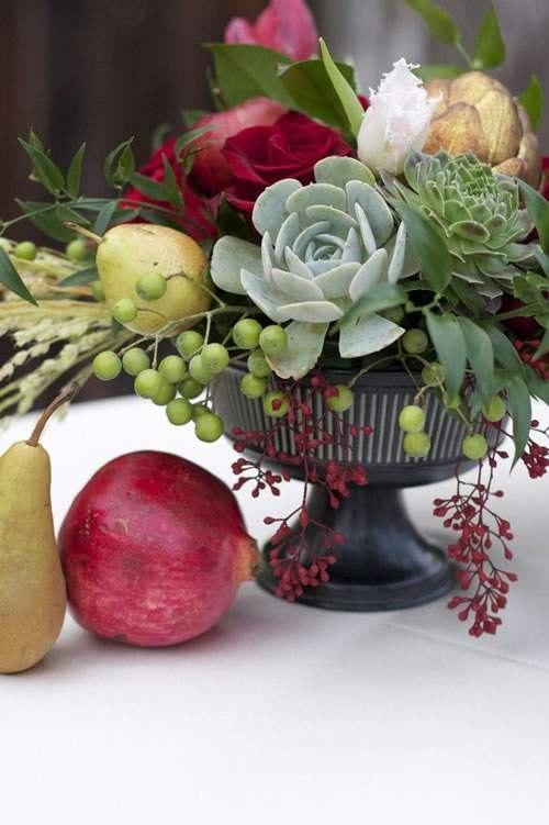 Meyvelerle Sofra Düzenlemeleri