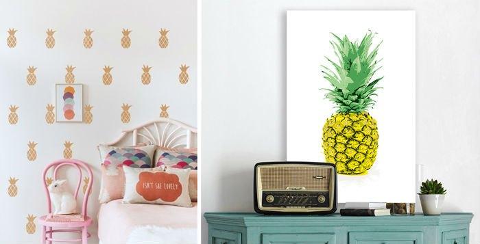 Dekorasyonda Ananas Trendi