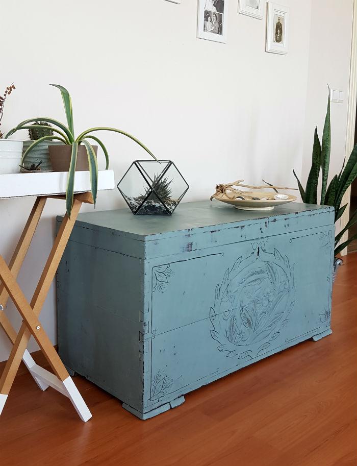 Mobilya Boyama Annie Sloan Chalk Paint Ile Eski Sandığımı